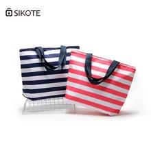 Sikote 11l Оксфордские полосатые сумки для обеда изоляционные