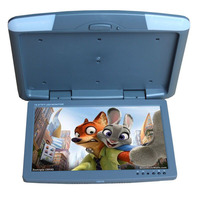 DC12V 15 5 Inch Roof Mount Monitor Flip Down Monitor Car Monitor With TFT LCD Screen