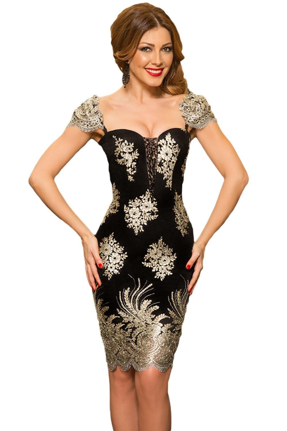Online Get Cheap Gold Dress Sleeves -Aliexpress.com   Alibaba Group