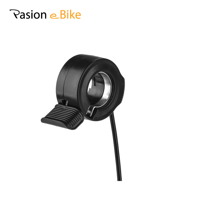 Pasion Ebike Electric Bicycle Thumb Throttle 36V 48V 72V Finger Thumb Throttle E Bike Speed Throttles Electric Bicycle Parts