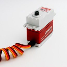 Original EMAX ES9255 Top-Class Metal Cased Brushless Digital Metal Gear Servo High Voltage Servo For RC Model цена