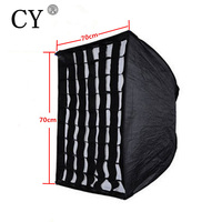 Photography Soft Box Photo Studio 70x70cm 28 X28 Umbrella Softbox Reflector Grid For Speedlite Flash Fotografia
