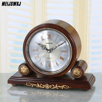 Reloj Meijswxj Saat настольные часы Reloj ретро настенные часы Творческий немой настольные часы Relogio Reveil Masa Saati Relogio де меса