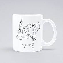 Pokemon Pikachu Milk Ceramic Cup