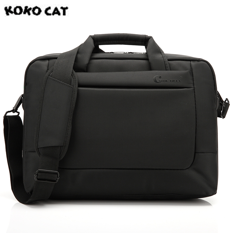 KOKOCAT Waterproof Crushproof 15.6 inch Notebook Handbag Computer Laptop Bag for Men Women Briefcase Casual Shoulder Bag 5 Color