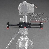 Compact Chowany Utwór Dolly Suwak 50 cm Rail Fotografowania Wideo Stabilizator 86 cm Rzeczywista Odległość Przesuwne