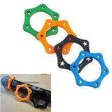 6 шт резиновый противоскользящий роликовое кольцо защита для ручной беспроводной микрофон милые мини Antislip рукавом