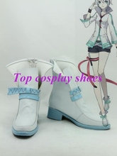Freeshipping Vocaloid China Project Yan He Cosplay Boots shoes custom-made for Halloween Christmas festival(China)