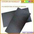 P10 3в1 SMD Крытый RGB полноцветный светодиодный модуль 1 или 2 линии сообщения регулируемые