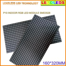 P10 3in1 SMD Indoor RGB Full color LED Module 1 or 2 lines messages adjustable