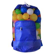 8 colors Children's Beach Backpack, Beach Mesh Tote Bag, Toy Organizer, Extra Large Sand Away Beach Shell Storage Foldable bag