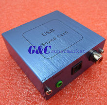 USB PCM2704 DAC USB a S/PDIF Tarjeta de Sonido Tablero del Decodificador Para El Ordenador
