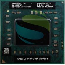 AMD Dual Core A6-4400M 2.7Ghz A6 4400M AM4400DEC23HJ Socket FS1 A6-Series notebook CPU PROCESSOR processor