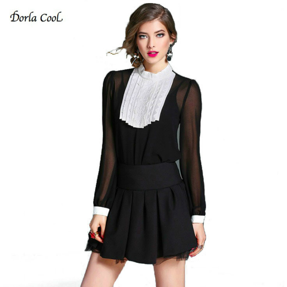 Online Buy Wholesale black silk shirts for women from China black ...
