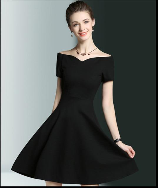 Imagenes de un vestido negro