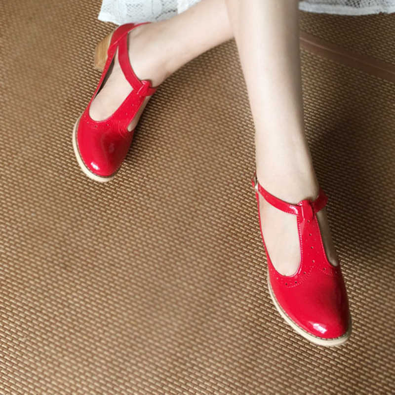 Kadın sandalet oxford ayakkabı vintage hakiki deri yüksek topuklu gladyatör oxfords yaz platform sandaletler için kadın terlik 2020