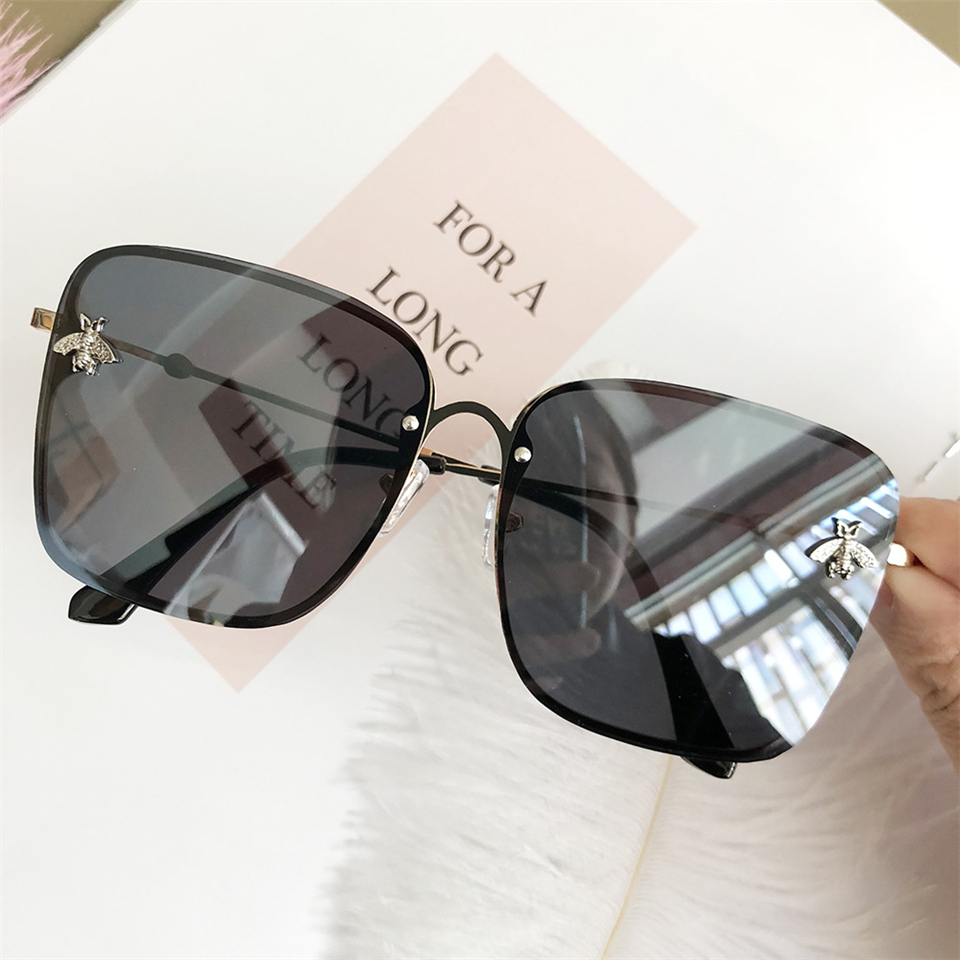 2019 Oversize Square Sunglasses Men Women Celebrity Sun Glasses Male Driving Superstar Luxury Brand Designer Female Shades UV400 (8)