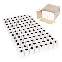 96 Rolls 2 1/4 x 50' (57mm x 36mm) Thermal Paper Cash Register Thermal Paper Till Rolls For Credit Card PDQ Machines