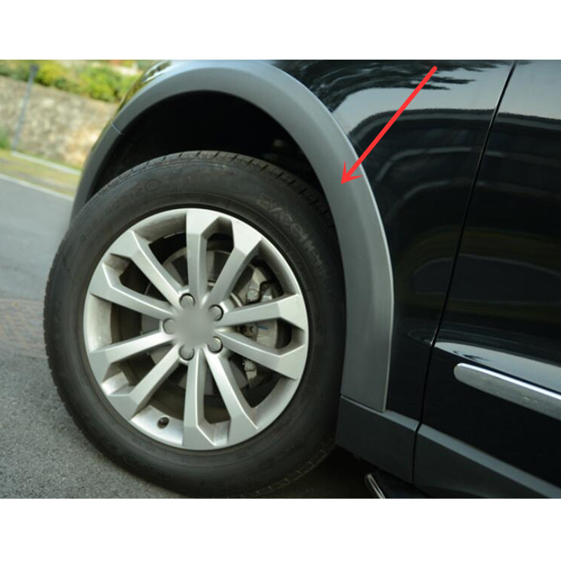 Car styling!10pcs Plastic Set Wheel Arch Fender Flares Cover Trim For Audi Q5 2010-2015 car styling 2pcs set abs steering wheel sequins cover for subaru xv 2012 2015 trim decoration