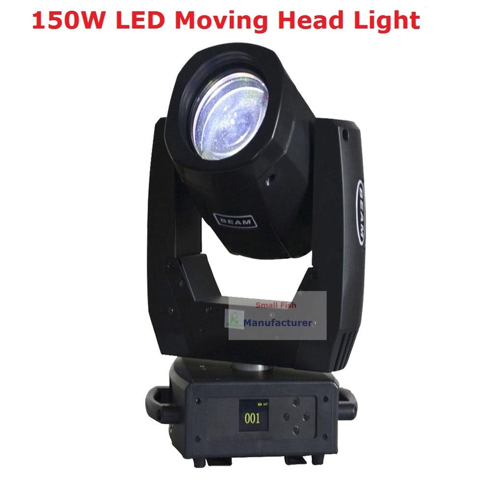 Hög Qulaity LED-rörande huvudlampa DMX512 13CHs Högeffekt 150W spot Beam-rörliga huvudlampor för professionell scen Dj-ljus