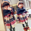 New Spring Autumn Wool Coats For Boys Turn-down Collar Wool Coat For Boys Plaid Long Sleeve Toddler Jackets for Infant Boys