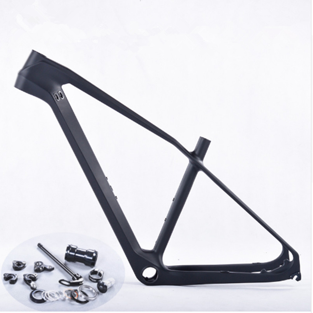 Carbon Frame 27.5 MTB 650b Carbon Mountain Bike Frame 27.5er Bicycle MTB Frame 17/18.5/20 Bicicletas Carbon MTB Frame PF30 2017 2017 mtb bicycle 29er carbon frame chinese mtb carbon frame 29er 27 5er carbon mountain bike frame 650b disc carbon mtb frame 29