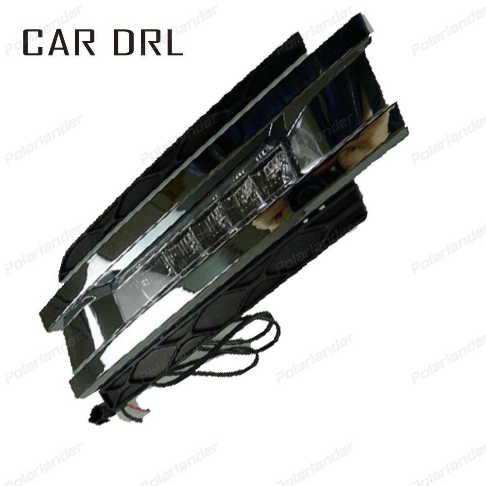 Car Daytme running lights For M/ercedes-B/enz GL450 2006 - 2011 LED headlight car styling