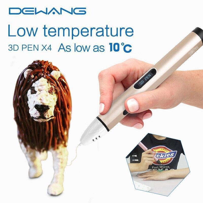 3d-drucker Diy Dewang Kunst und Handwerk X4 3D Druck Stift 3D führte ...