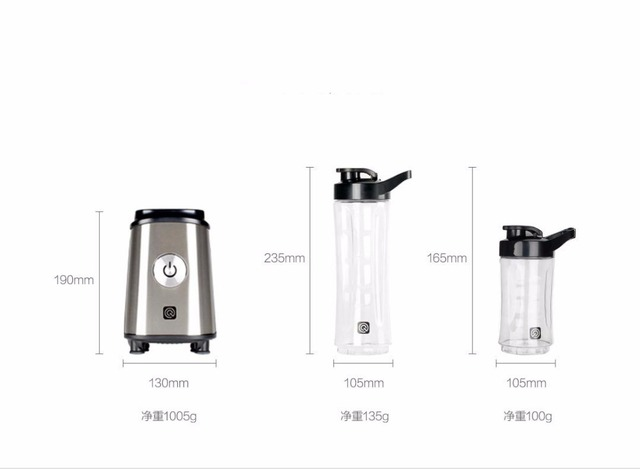 Xiaomi Mijia Ocooker Portable Fruit and Vegetable Cooking Machine Point Switch 304 Stainless Steel 8 Seconds Soup Machine 6
