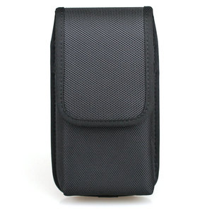 Image 2 - 垂直ダブル携帯電話のウエストパックとベルトループ iphone xs 最大/サムスン注 9/huawei 社ナイロンホルスターデュアル電話ポーチ