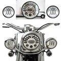 Conjunto de 7 pulgadas LED Adaptativos Harley Motocicleta Faro + Par 4.5 pulgadas Paso Luces de Niebla Para Harley Davidson