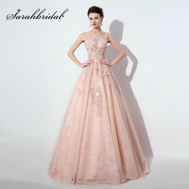 Comprar ahora Rubor elegante encaje vestidos de noche vestidos de ...