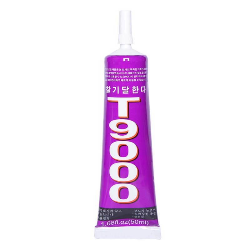 50ml T9000 Transparent Liquid Glue More Powerful New Epoxy Resin Adhesive Sealant Handset Touch Screen Repair Tool