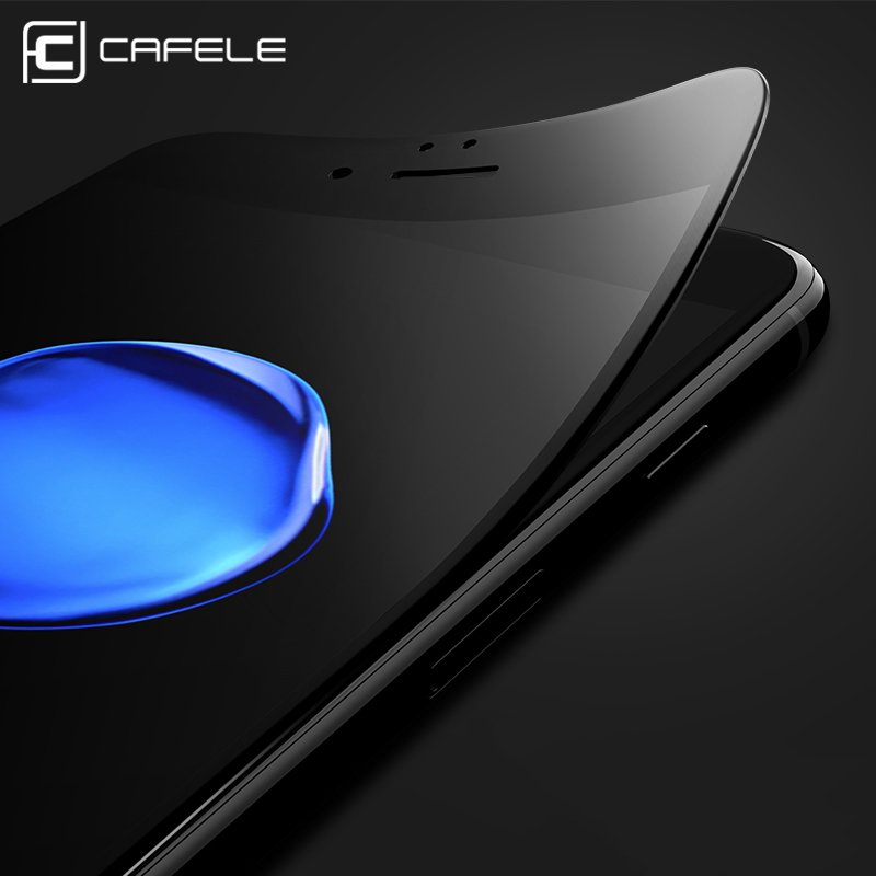 CAFELE For iphone 7 Screen Protector 3D soft edge full cover Tempered Glass For iphone 7 plus Seamless covering Anti Glare Film