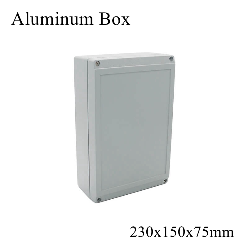 FA10 230x150x75m IP65 Waterproof Aluminum Junction Box Electronic Terminal Sealed Diecast Metal Enclosure Case Connector Outdoor|Connectors| |  - title=