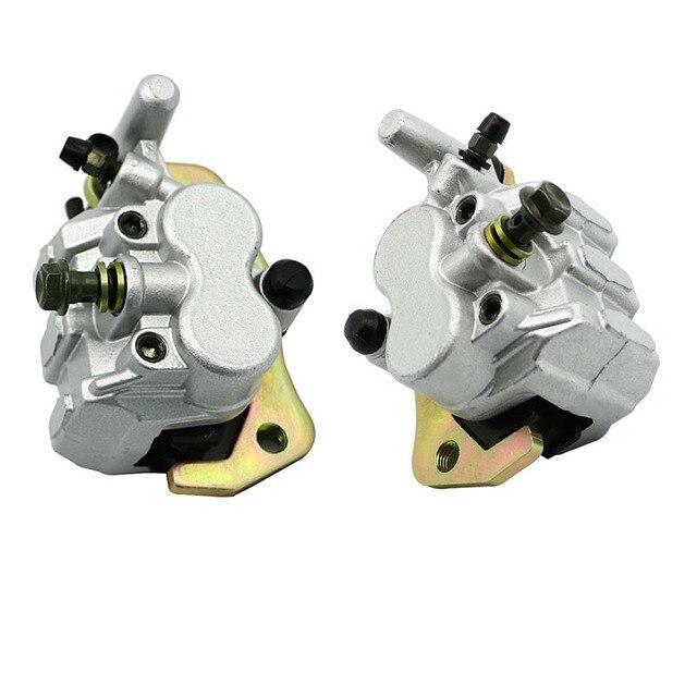Передний левый и правый Тормозной гидравлический суппорт W/колодки в сборе для Yamaha UTV RHINO 450 YXR450 2006-2009 RHINO 660 YXR660 2004-2007