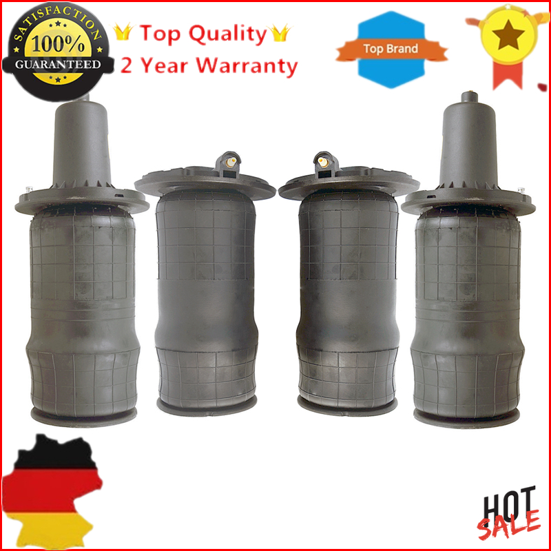 New 4 pieces Front & Rear Air Suspension Spring Bag kit REB101740 RKB101460 RKB101460E For RANGE ROVER P38 II MK2 2 left right rear left air suspension bag for bmw e53 x5 37126750355 2000 2006 air spring repair kit 37126750355 37121095579