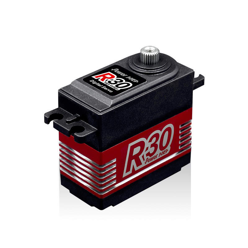 Power HD R30 30kg large torque metal gear servo for RC hobby jx servo pdi 6115 mg kg 15 large torque torque metal gear steering gear digital hollow cup standards
