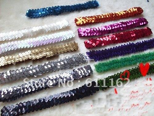 100 шт 1 ''обруч с бантом детские повязки для девочек стрейч 1 дюйм застежка-молния лучшие продажи