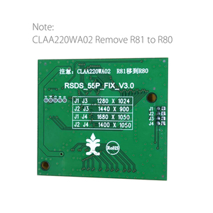 Image 2 - RSDS_S4_V3.0 55P 0.5 FFC LVDS Turn RSDS Signal Transform Adapter Board Conversion Card for A220Z5 CLAA220WA02 ZB A190A8