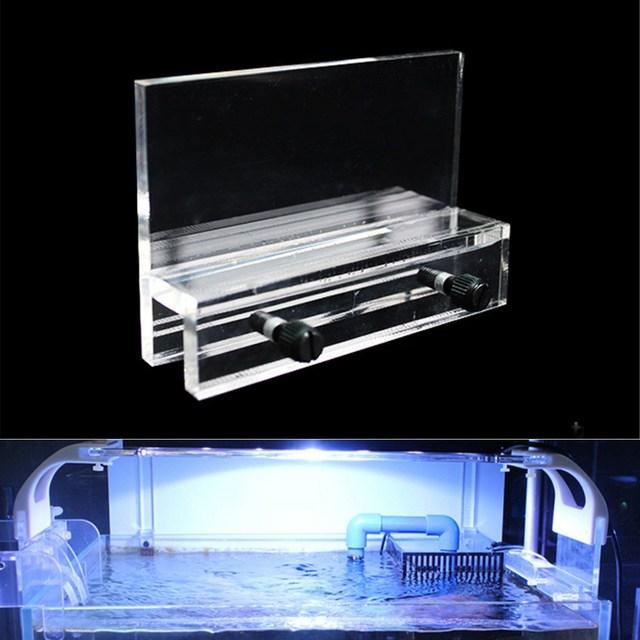 Acrylic Aquarium Fish Tank Led Light Holder Lamp Fixtures Support