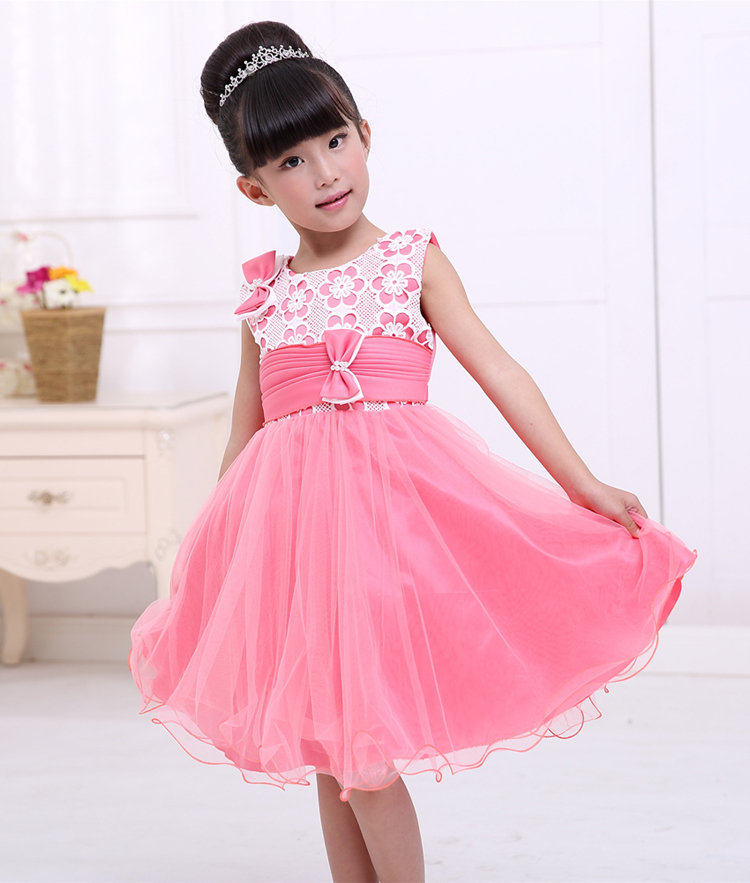 396f625d2cccb pink flowers embroidery elegant trendy 3 year old kids toddlers ...