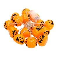 ITimo Halloween Christmas Light 16 LEDs Wedding Supplies Pumpkin String Lights Props Decorations String Fairy Lights Lamps