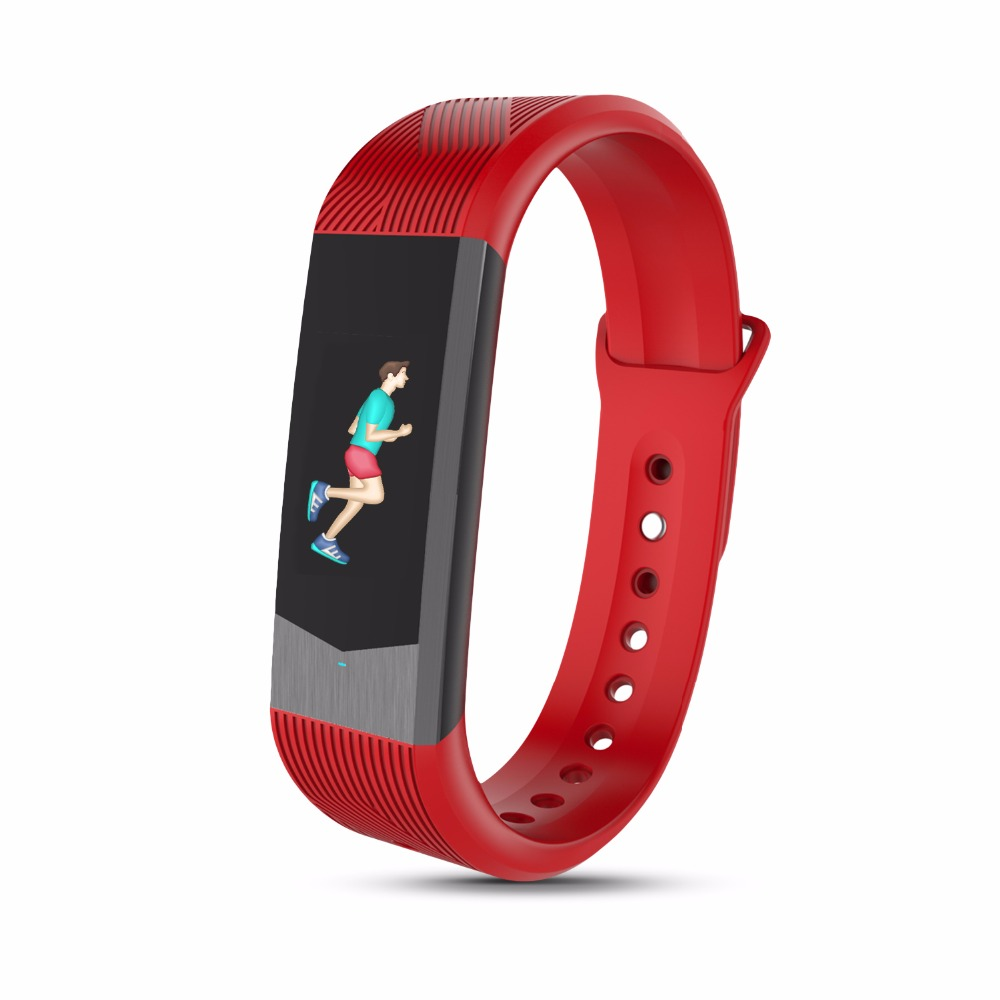 Bozlun Mens And Womens Color Smart Bluetooth Watch With Heart Rate Monitor Pedometer Sleep Fitness Tracker for Andriod And IOS epic bluetooth wifi gps heart rate smart watch phone for android ios 2g 3g pedometer sleep tracker health smart watch dm368