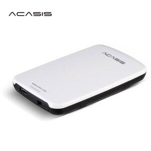 Оригинальный HDD внешний жесткий диск ACASIS, 2,5 ''HDD внешний жесткий диск 160 Гб/250 ГБ/320 Гб/500 ГБ, портативный диск USB 2,0, выключатель питания