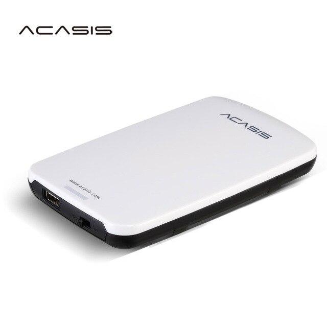 2.5 ''ACASIS Ban Đầu HDD Ngoài 160 GB/250 GB/320 GB/500 GB lưu Trữ đĩa USB2.0 Có Công Tắc Nguồn Bán