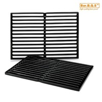 Hisencn 7522 set of 2 22.5'' Barbecue Parts Replacement Cast iron Cooking Grill Grid Grate For Genesis Silver A, Spirit 500