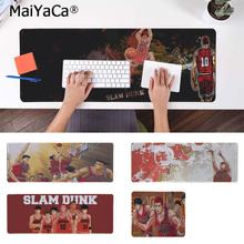 MaiYaCa High Quality Slam Dunk Natural Rubber Gaming mousepad Desk Mat Rubber PC Computer Gaming mousepad maiyaca hot sales anime steins gate natural rubber gaming mousepad desk mat large lockedge mousepad laptop pc computer mouse pad