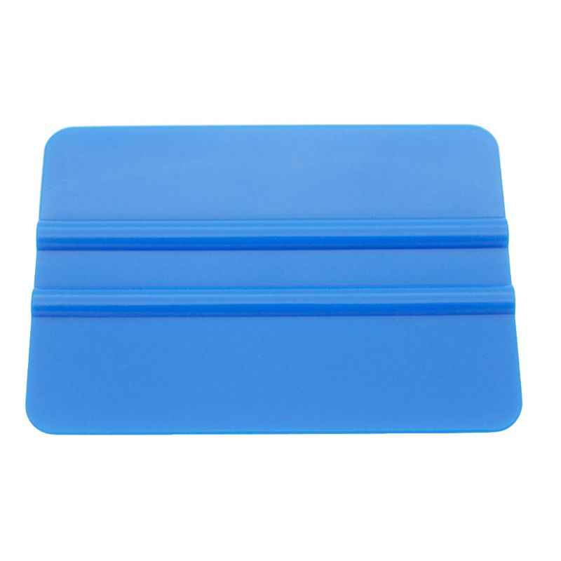 Car Window Glass Tint Squeegee Contour Scraper Auto Vinyl Film Wrapping Cleaning Automotive Tools