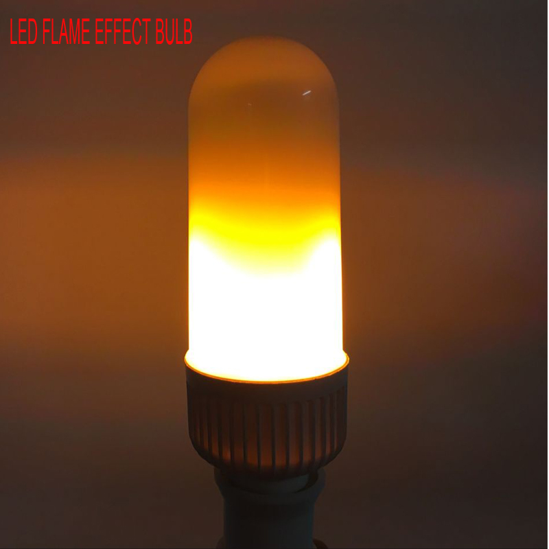 NEW YEAR E27 2835 LED Flame Light Effect Fire Light Bulbs Creative Light Flickering Emulation Vintage Atmosphere Decorative Lamp